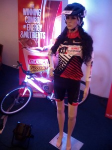 A manikin model for the Alaska Cycle Asia