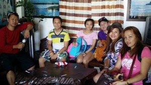 at the Puerto Galera Tourism office