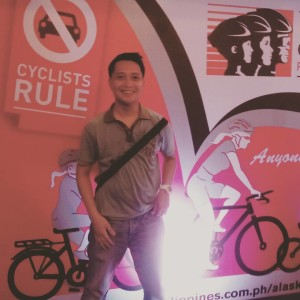 Cyclists Rule. Kampeon Ng Pag-ibig supports Alaska Cycle Asia