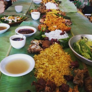 Boodle Fight in APAG Marangle
