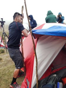 Master Pulag Ron pitching