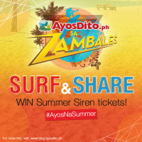 Surf & Share Your #AYOSNASUMMER Wish, Win Summer Siren Festival Passes For Your Barkada