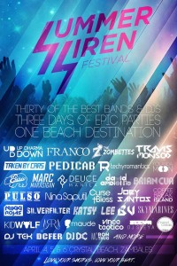 Summer Siren Bands and DJs