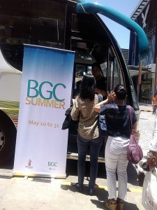 BGC Summer dates