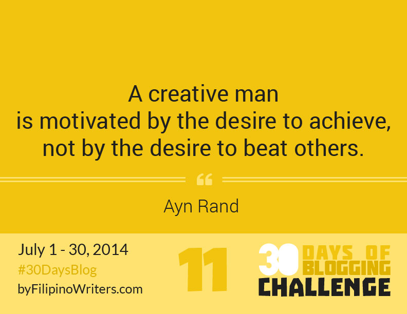 Day 11:  11 Quotes That Will Inspire You To Write #30DaysBlog