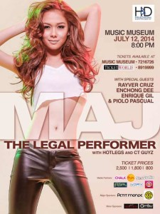 Maj The Legal Performer at Music Museum