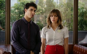 Scorpion; Katherine McPhee and Elyes Gabel