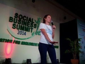 Georgina For Social Business Summit