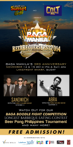 Sandwich and Abra on BeerBecuersFest2014
