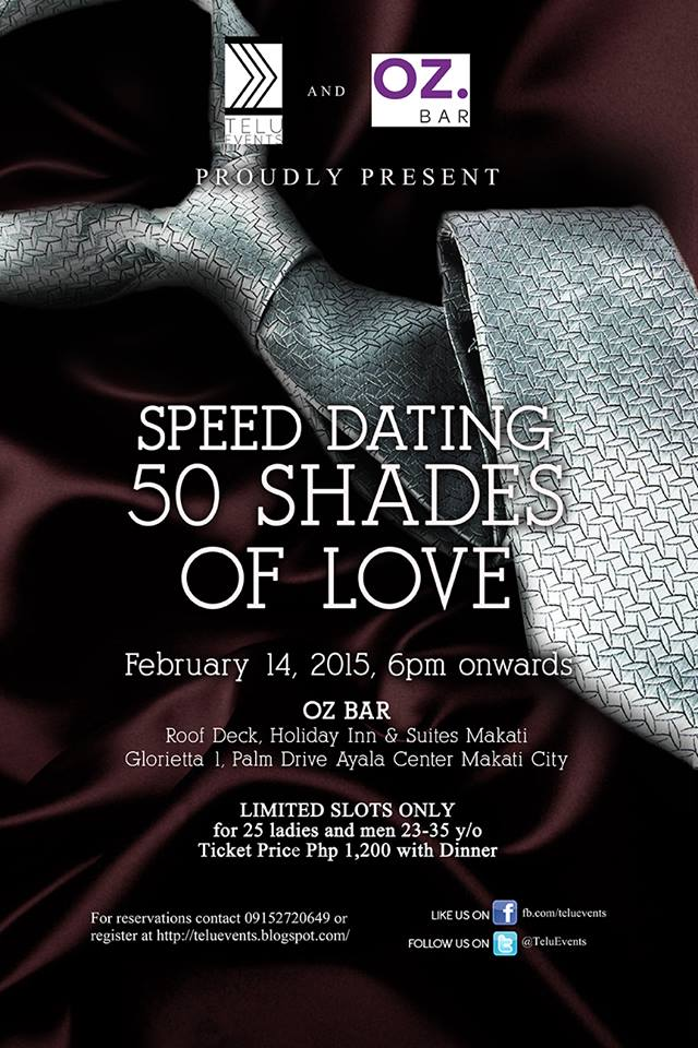 Speed dating for over 50s