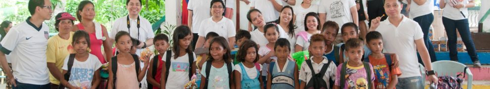 Each grade level were given school supplies