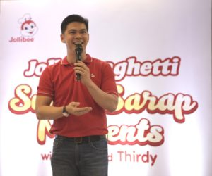 Jollibee's AVP for Marketing Kent Mariano