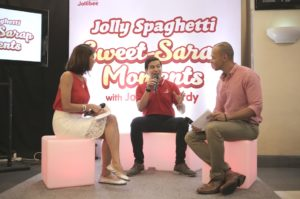 Jollibee's Assitant Brand Manager for Jolly Spaghetti Luis Berba