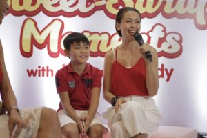 Warm welcome for Jodi and Thirdy