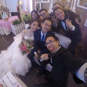 Team KnP wishing Noel and Giselle a happy Married Life