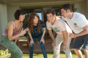 plaza, kendrick, devine and efron in MIKE AND DAVE NEED WEDDING DATES