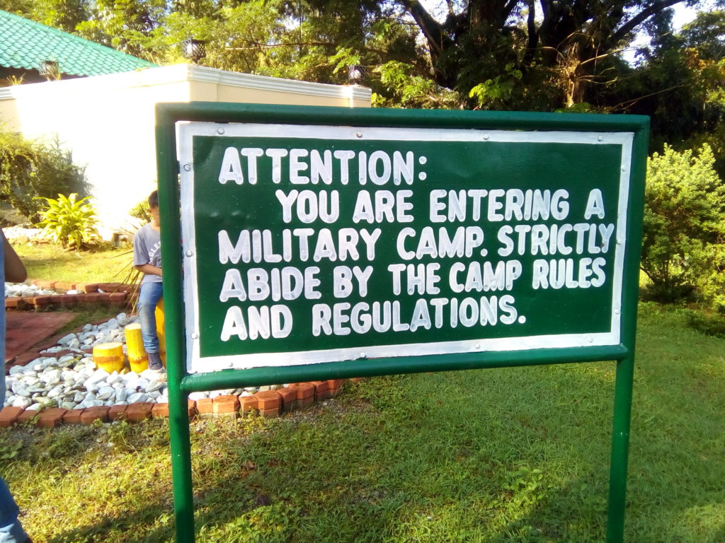 This is a Military Camp.