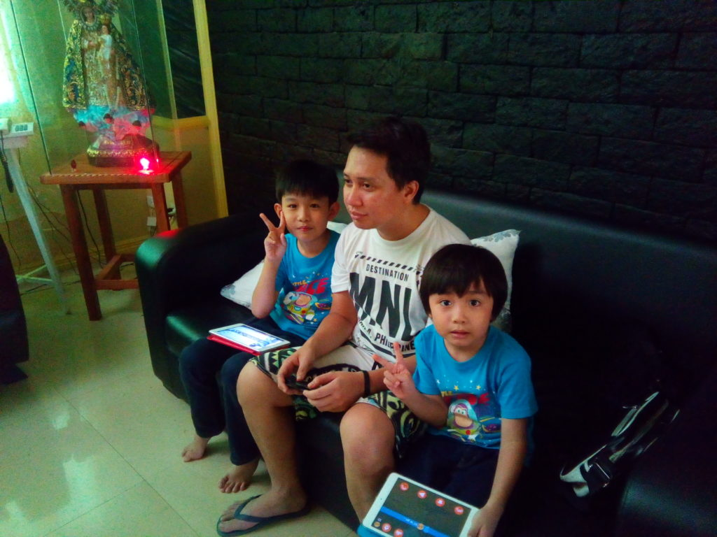 these pamangkins thought i was just 15 years old. how cute.