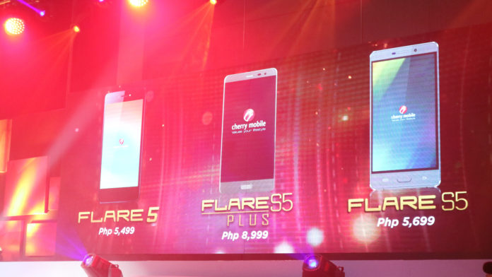 Cherry Mobile Flare S5 series