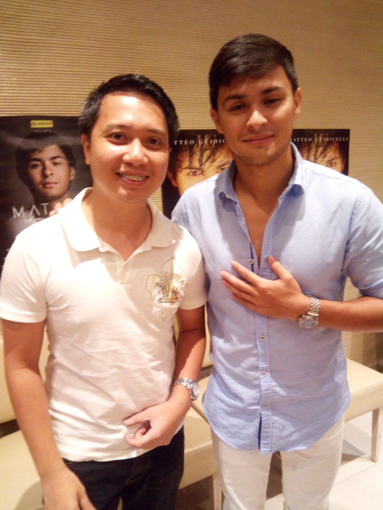 with Matteo G. proud Cebuano