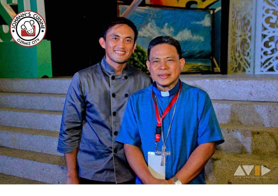 Chef Johann with Bishop Jumoad