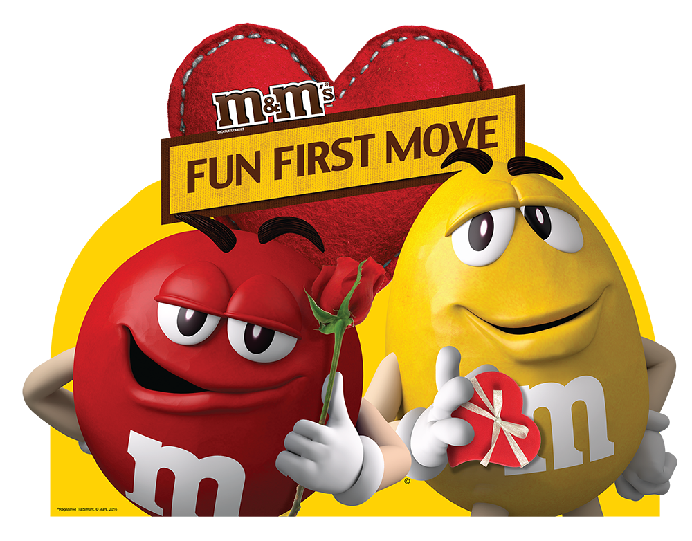 M&M'S Valentine First Fun Move PHL