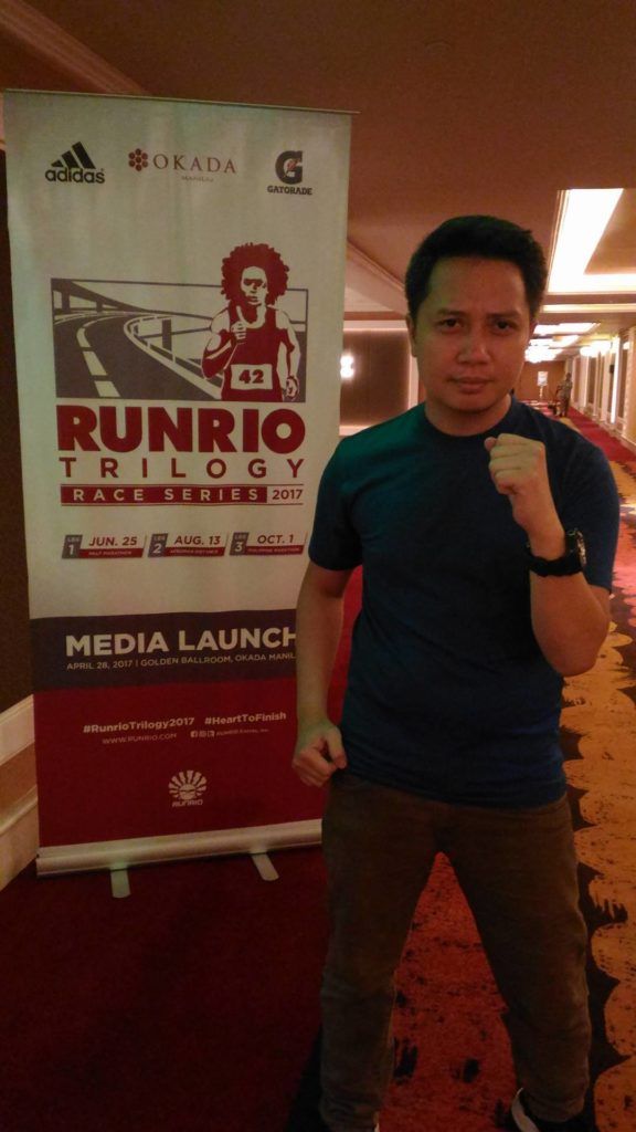 Kampeon Ng Pagibig for Runrio Trilogy 2017