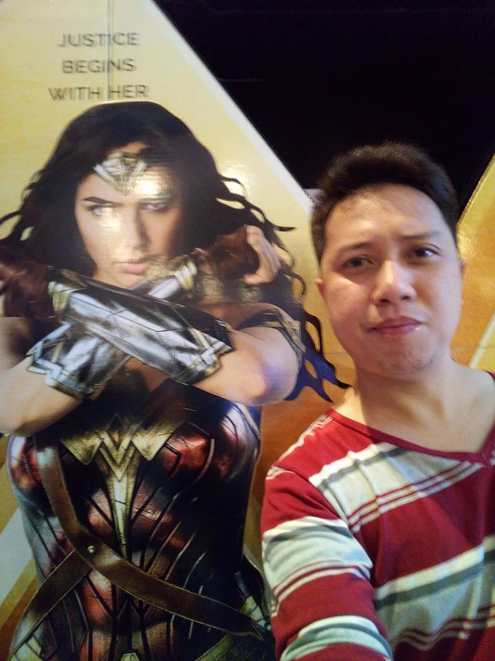 Reserved at defensive si Wonder Woman