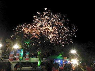 Magayon Festival at night