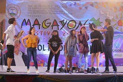 Magayon Festival on stage