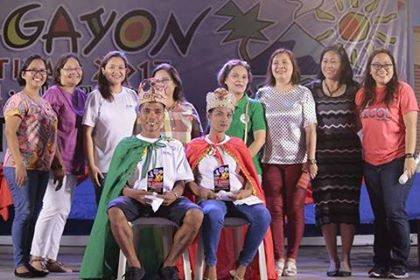 King and Queen of Magayon Fest