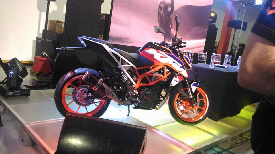 This Orange KTM Bike is a baby beast, equipped with the technology to help you become Ready To Race!