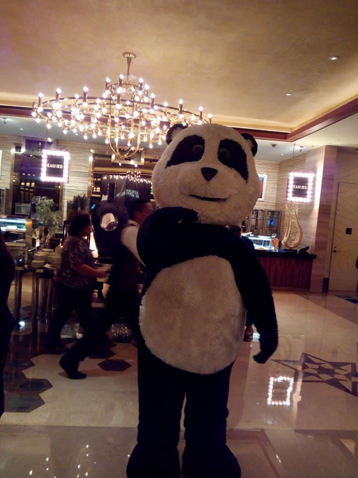 WWF Panda graces the event!