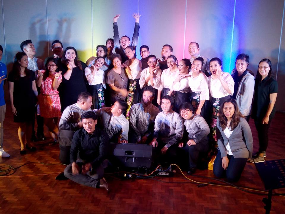 wacky ones . The Manila Chamber Singers.