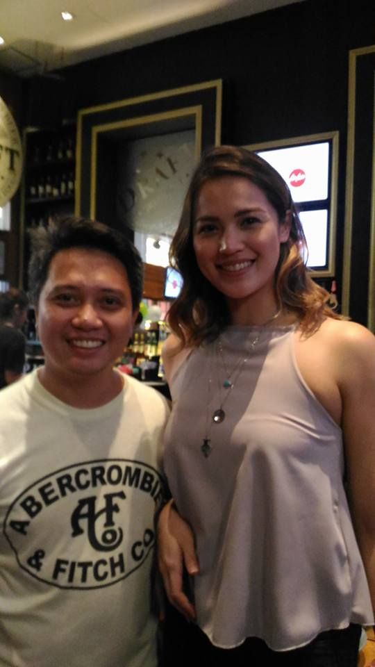 with #DareToDream Web series host Michele Gumabao (@gumabaomichele)