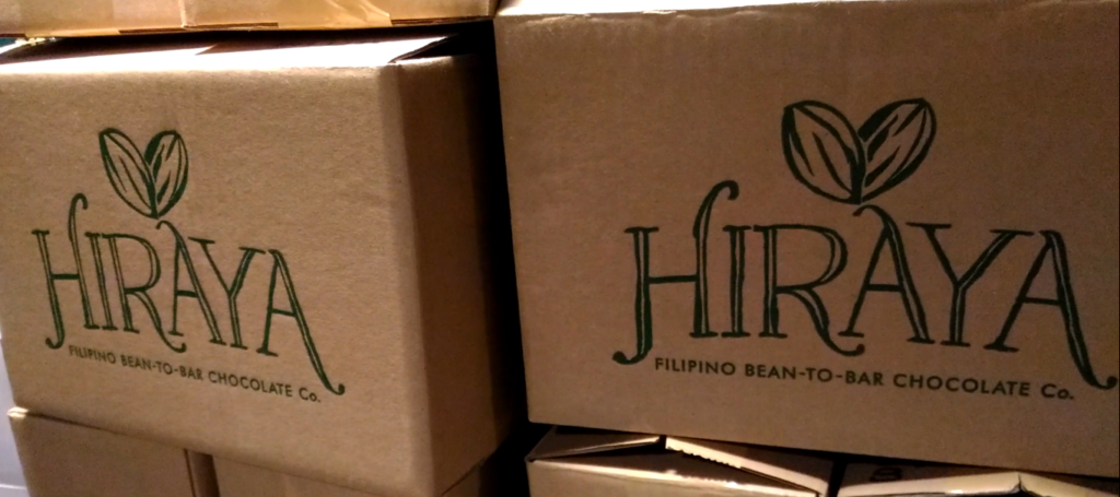 Hiraya boxes are ready for delivery.