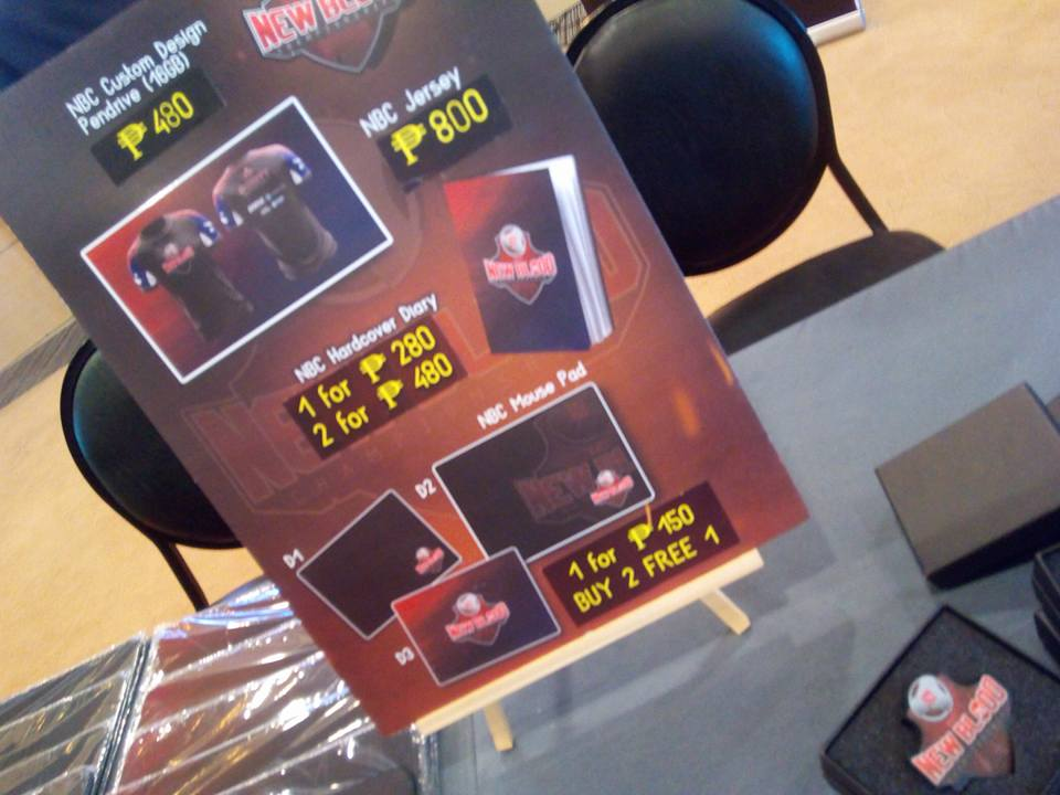 Loot from the recently concluded New Blood Championships Philippines