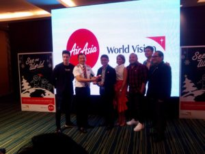 #SeeTheWorld campaign with AirAsia X WorldVision