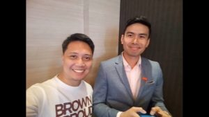 with kuya mo christian bautista