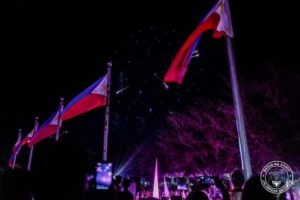 Flags at the Historic Capital of Cavite