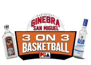 Ginebra San Miguel 3 on 3