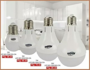 CDR LED bulbs