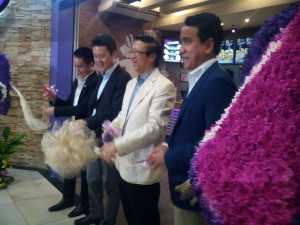 Ribbon Cutting. Tace Bell is now Live MAS. Visit Their Araneta Center Cubao store now.