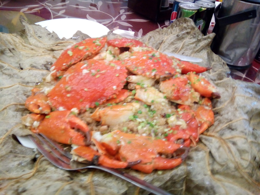 Crab with Sticky Rice - Oriental Palace