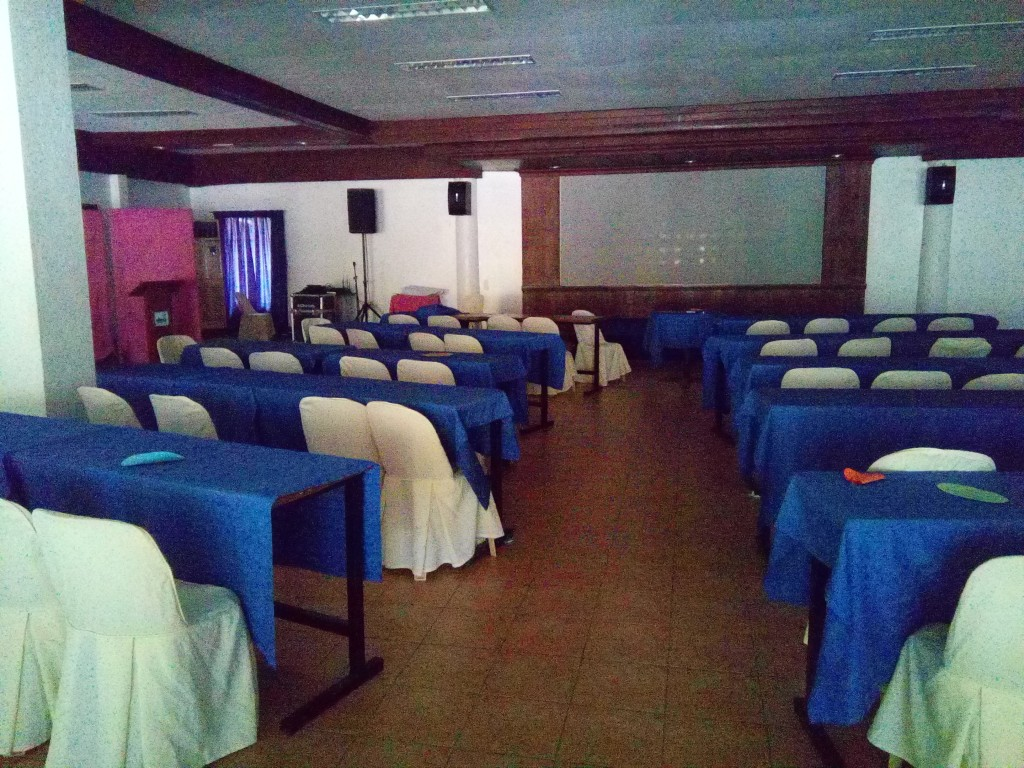 This hall is for learning, conferences, meetings, planning, and other in-door gatherings.