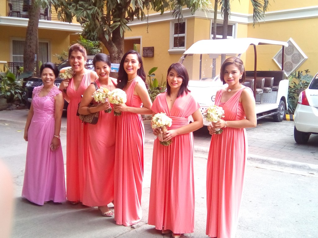 Club Balai Isabel hosts weddings. You will bump to lovely bridesmaids every once in a while.