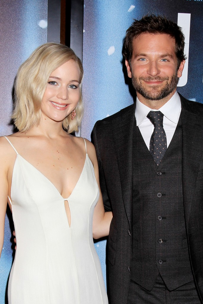 "- New York, NY - 12/13/15 - Twentieth Century Fox Presents the World Premiere of ""JOY"" -PICTURED:  Jennifer Lawrence, Bradley Cooper -PHOTO by: Dave Allocca/Starpix -FILENAME: DA_15_010050133.JPG -LOCATION: The Ziegfeld Theatre Startraks Photo New York,  NY For licensing please call 212-414-9464  or email sales@startraksphoto.com Image may not be published in any way that is or might be deemed defamatory, libelous, pornographic, or obscene. Please consult our sales department for any clarification or question you may have. Startraks Photo reserves the right to pursue unauthorized users of this image. If you violate our intellectual property you may be liable for actual damages, loss of income, and profits you derive from the use of this image, and where appropriate, the cost of collection and/or statutory damages."