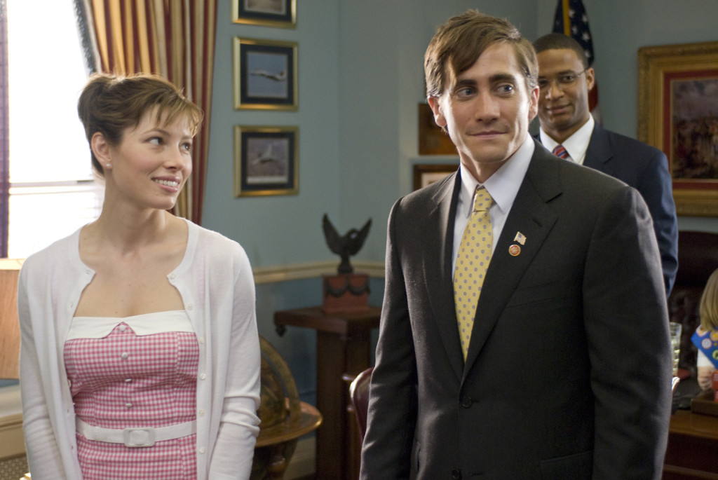 jessican biel and jake gyllenhaal in ACCIDENTAL LOVE