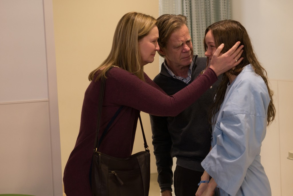joan allen, william macy, and brie larson in ROOM