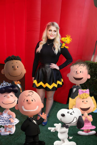 Meghan Trainor seen at Twentieth Century Fox Premiere of 'The Peanuts Movie' at Regency Village Theater on Sunday, November 1, 2015, in Los Angeles, CA. (Photo by Eric Charbonneau/Invision for Twentieth Century Fox/AP Images)